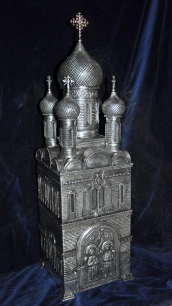 chivot biserica rusa de inalta complexitate tehnica
