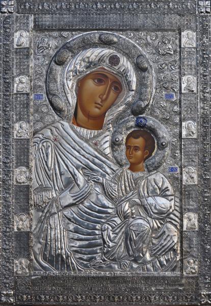 Icoana Maica Domnului- Portarita- Manastirea Chiajna